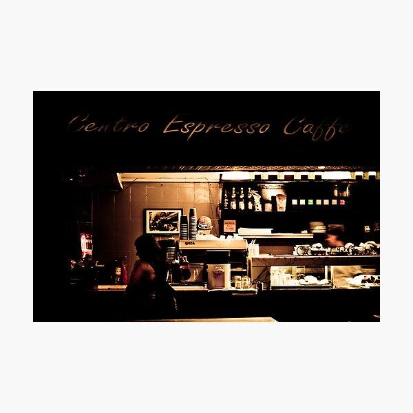 Centro Expresso caffe Photographic Print
