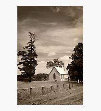 Old church ... Bowning NSW Photographic Print