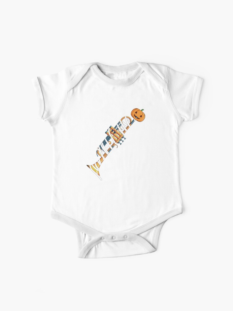 Halloween Trumpet Mummy Costume Baby One Piece By Alwe Designs Redbubble