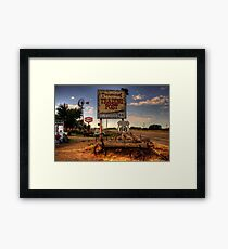 Tucumcari trading post Framed Print