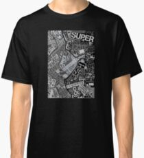Typography Grayscale Classic T-Shirt