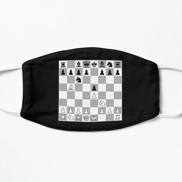 Chess Opening Ruy Lopez Spanish Game Player 1.E4 Flat Mask
