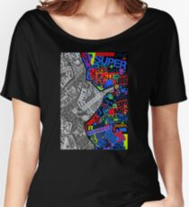 Typography Women's Relaxed Fit T-Shirt