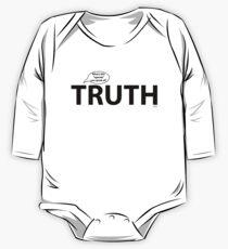 Truth Has No Agenda One Piece - Long Sleeve