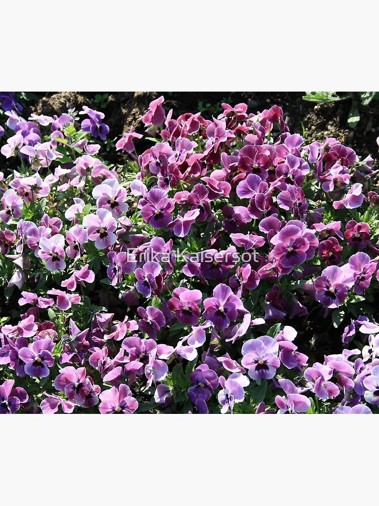 Purple Romantic Flowers by ErikaKaisersot