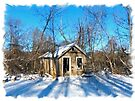 Old House in the Snow by FrankieCat