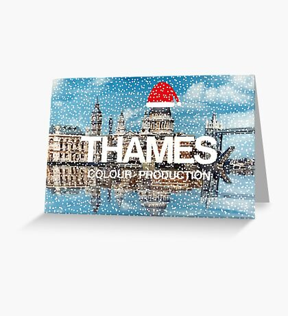 NDVH Christmas Thames Greeting Card