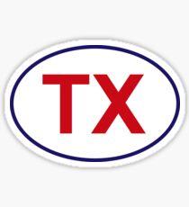 Texas State Sticker Sticker