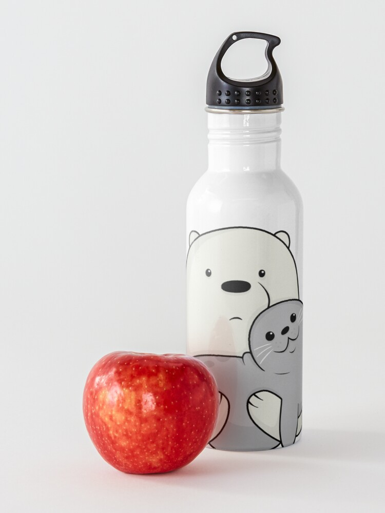 Alternate view of Ice Bear and Seal  Water Bottle