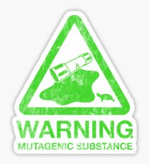The Danger of the Ooze Sticker