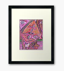 cynical solution Framed Print