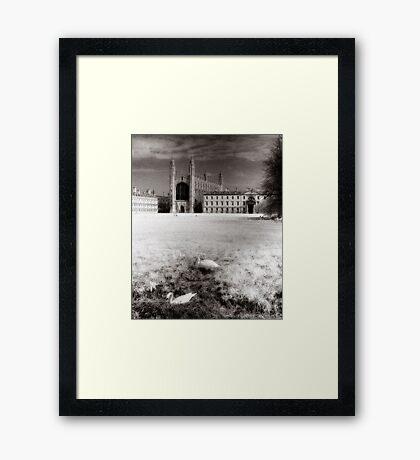 Cambridge II - Kings College Framed Print