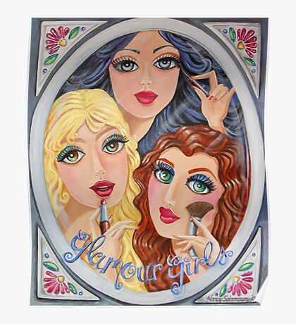 Snow White, Goldilocks and Little Red Riding Hood Poster