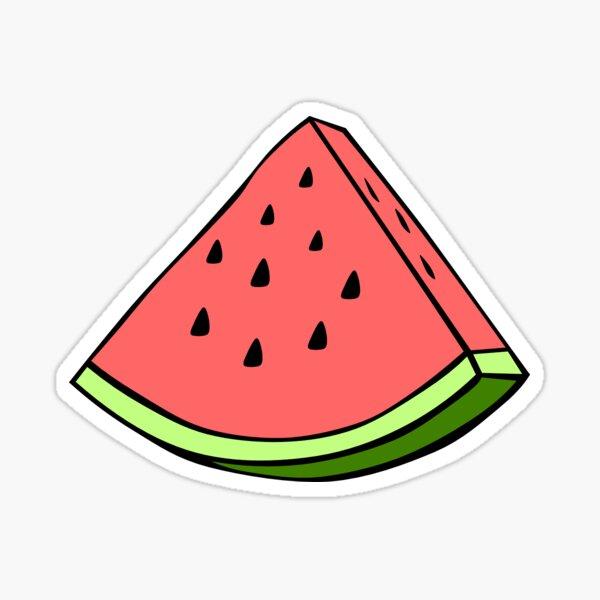 Autocollant pastèque Sticker