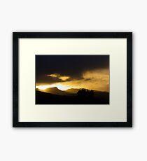Oneiric Sunrise Framed Print