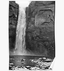 Ithaca Waterfall Poster