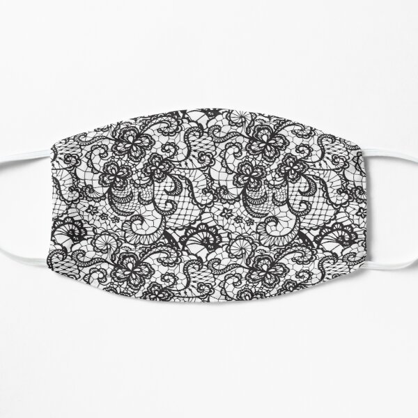 Floral Lace  pattern  Mask