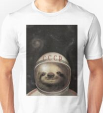 Cosmonaut Sloth T-Shirt