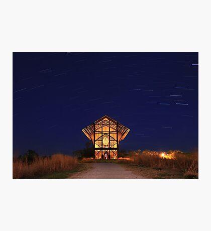 Shrine at Night Photographic Print