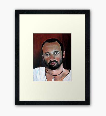 Study for Ruben Framed Print