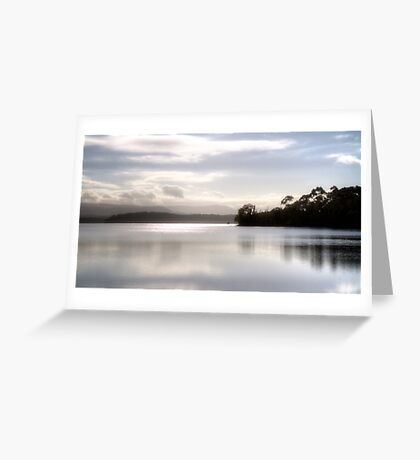 Yan Yean Reservoir Greeting Card