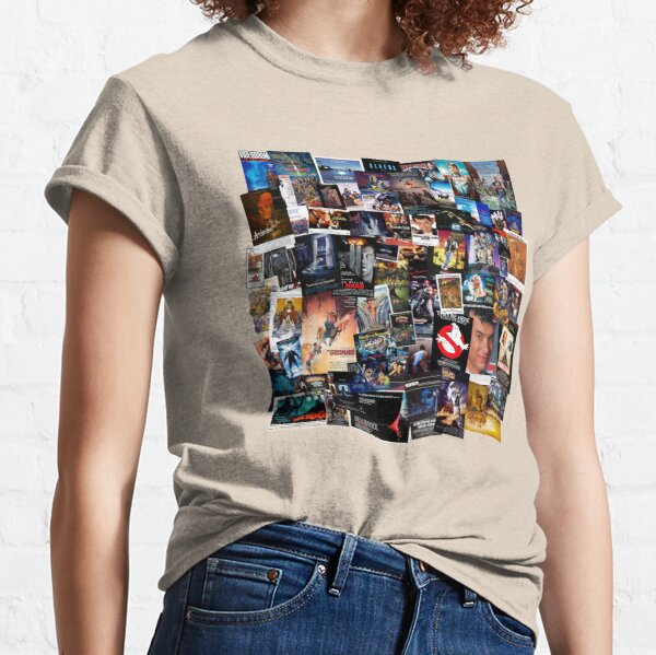 1980s Movie Posters Classic T-Shirt