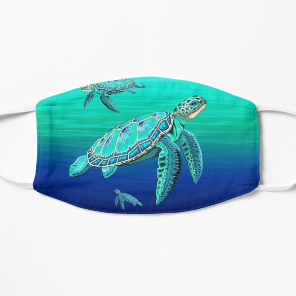 Sea Turtle Turquoise Oceanlife Mask