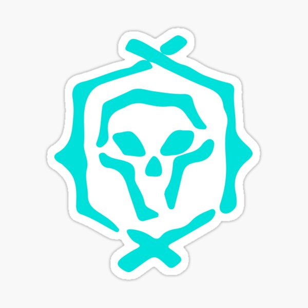Athena's Fortune Symbol - Sea of Thieves  Sticker