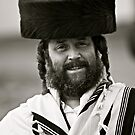 7 ★★★★★. My features Art that I LOVE!!!  A tallit with black stripes according to the Orthodox Ashkenasic tradition . by  Doctor Faustus. Featured in Hat Heads. & Male Appreciation A dank ojch zejer!  by © Andrzej Goszcz,M.D. Ph.D
