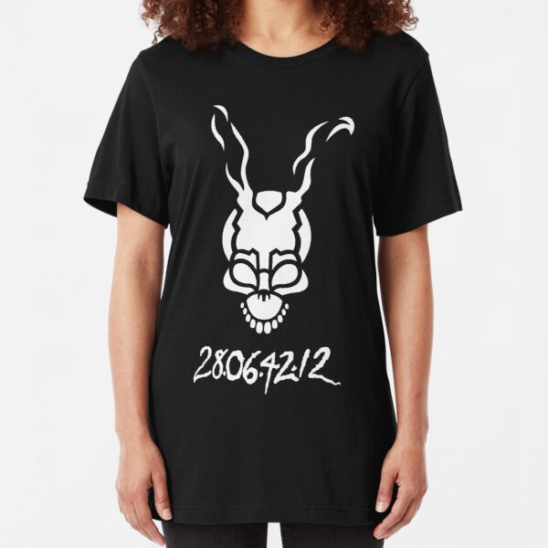 Donnie Darko Outline Slim Fit T-Shirt