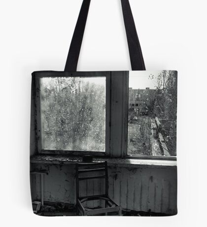 A Seat by the Window Tote Bag