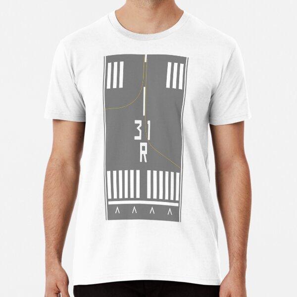 JFK Runway 31R Premium T-Shirt