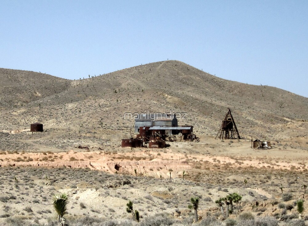 Mining In Nevada by marilyn diaz
