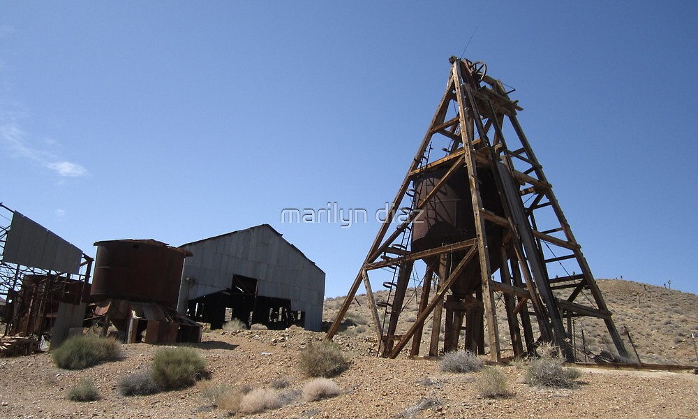 Mining At One Time by marilyn diaz