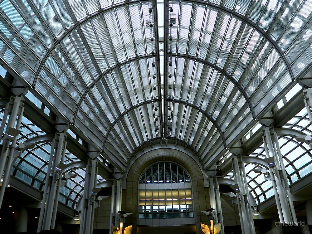 Ronald Reagan Building - roof from inside  ^ by ctheworld