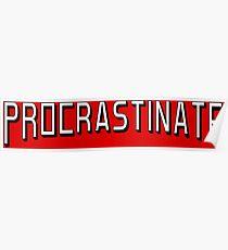 Procrastinate flix Poster
