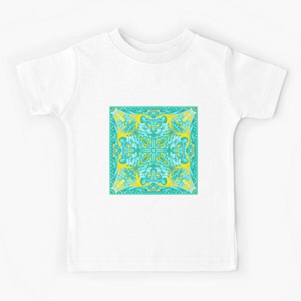Mandala Tigre animal Camiseta para niños