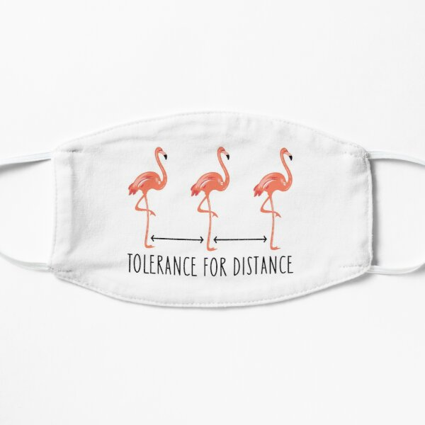 Flamingos keep their distance Mask