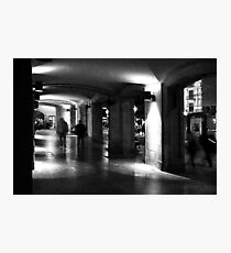 Arcade Barcelona. Photographic Print