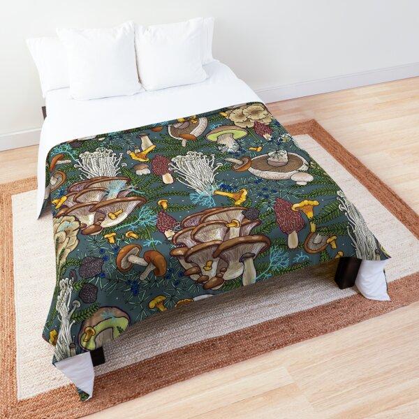mushroom forest Comforter