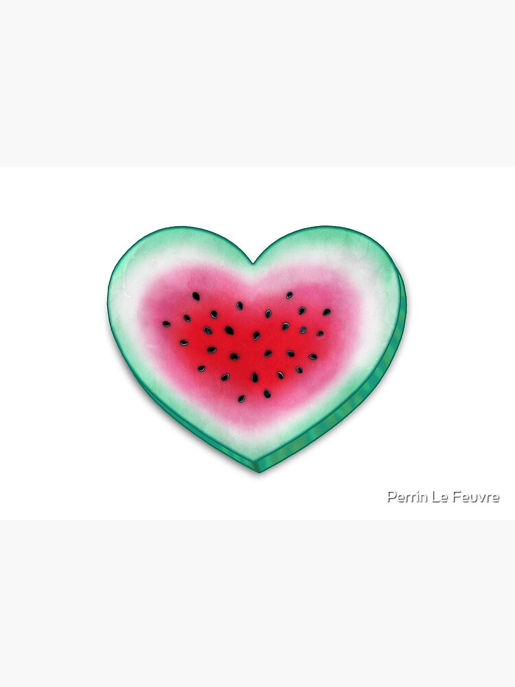 Summer Love - Watermelon Heart by PerrinLeFeuvre