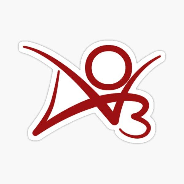 ao3 logo Sticker