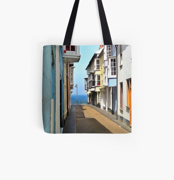 Cromer cottages. All Over Print Tote Bag