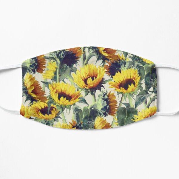 Sunflowers Forever Flat Mask