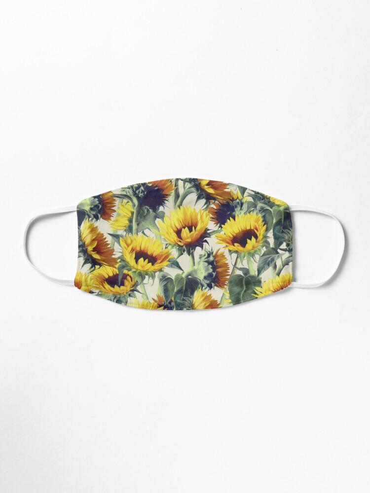 Alternate view of Sunflowers Forever Mask