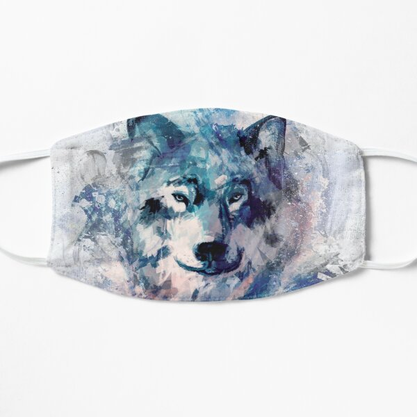 Wolf of the north grey Version Maske