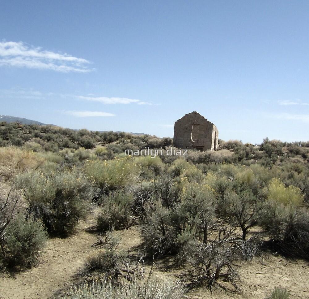 Ghostly Ruins by marilyn diaz