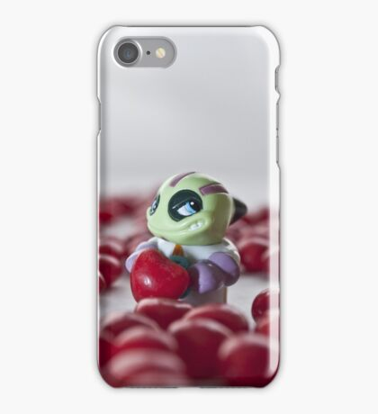 Little heart stealer for iPhone iPhone Case/Skin