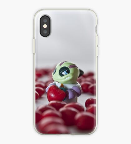 Little heart stealer for iPhone iPhone Case