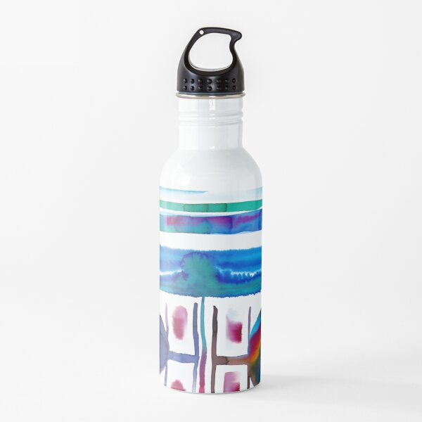 abstract watercolors 5 Water Bottle